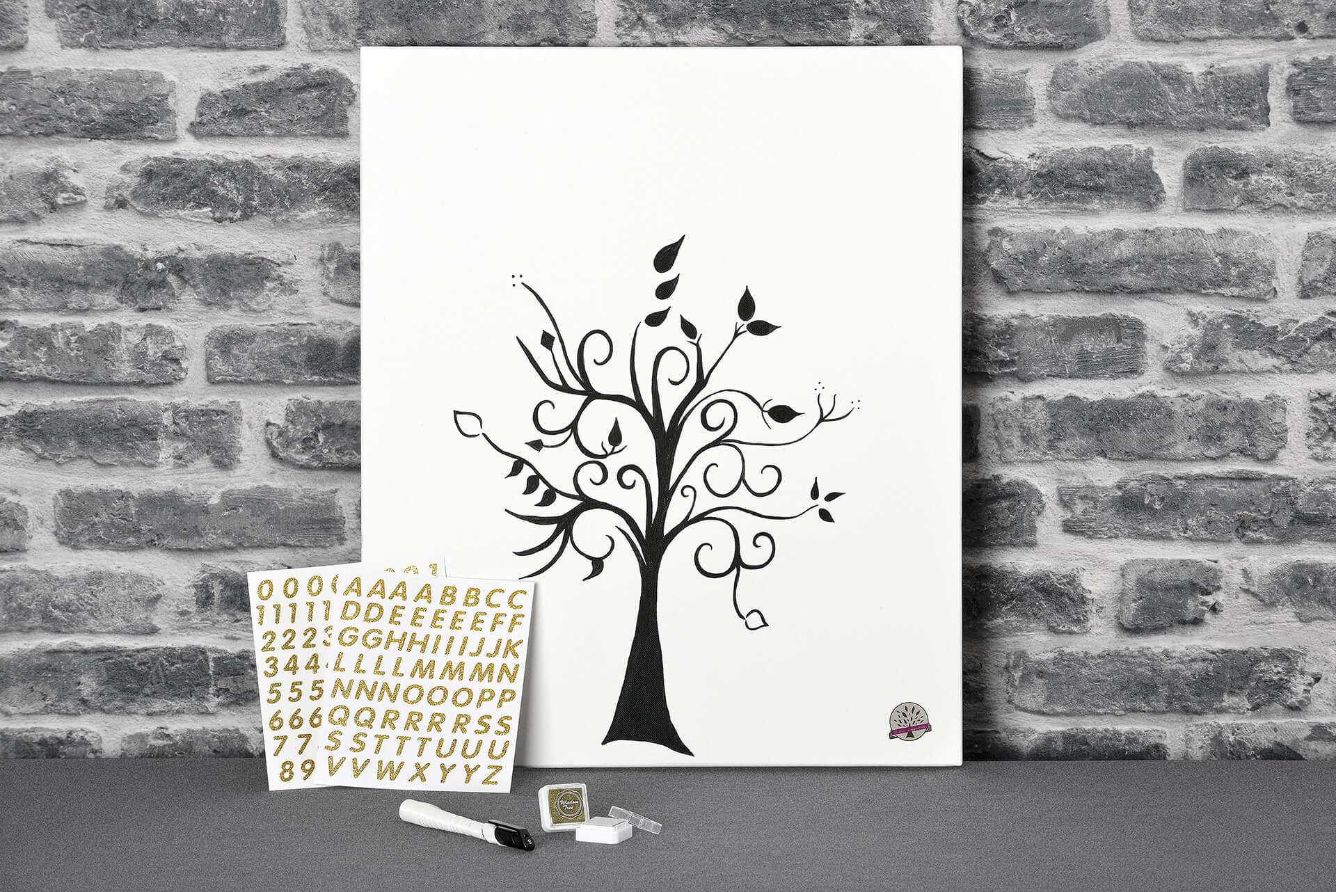 Un événement exceptionnel, un cadeau original, L'arbre à empreinte