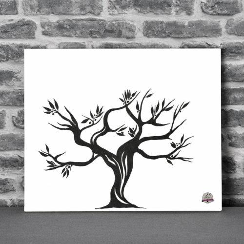 L'arbre à Empreinte et son Olivier